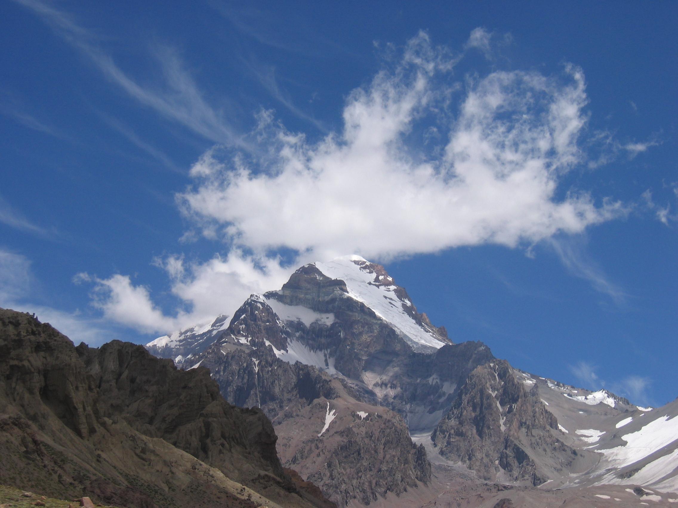 Moe Al Thani   Mount Aconcagua